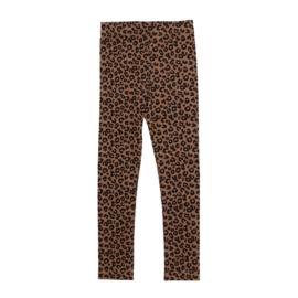 Maed for mini legging chocolat leopard