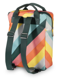 ENGELpunt rugzak medium Stripe Rainbow
