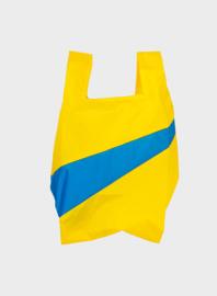 Susan Bijl the New shoppingbag Yellow & Blue bag | Mt. M/L