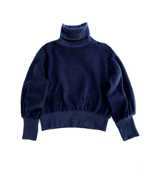Long live the queen sweater navy