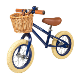 Banwood First Go balance loopfiets navy