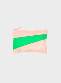Susan Bijl pouch Powder & Greenscreen | Mt. M