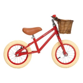 Banwood First Go balance loopfiets red