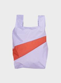 Susan Bijl the New shoppingbag Lavender & Rust | Mt. S