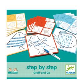 Djeco leren tekenen step by step graff en co