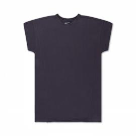 Repose AMS t-shirt dress dark night grey