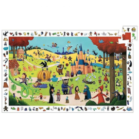 Djeco puzzel observatie sprookjes - 54 stukjes