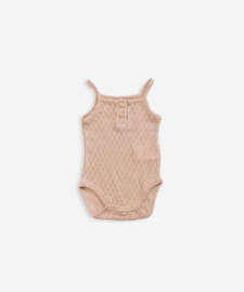 Play up romper body beige