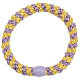 Bon Dep Kknekki haarelastiek yellow lavender