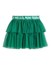Mini Rodini rok tulle green | Mt. 92/98