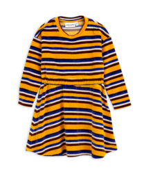 Mini Rodini jurk Stripe velour