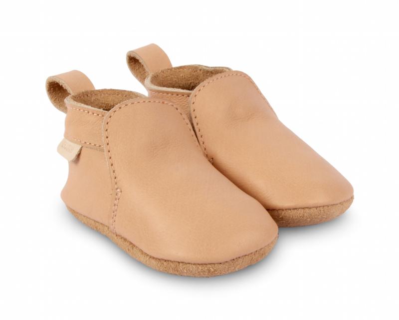Boumy babyschoentje hagen Nude Leather