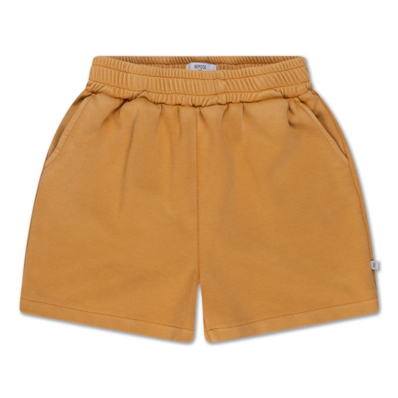 Repose AMS sweat short golden sand
