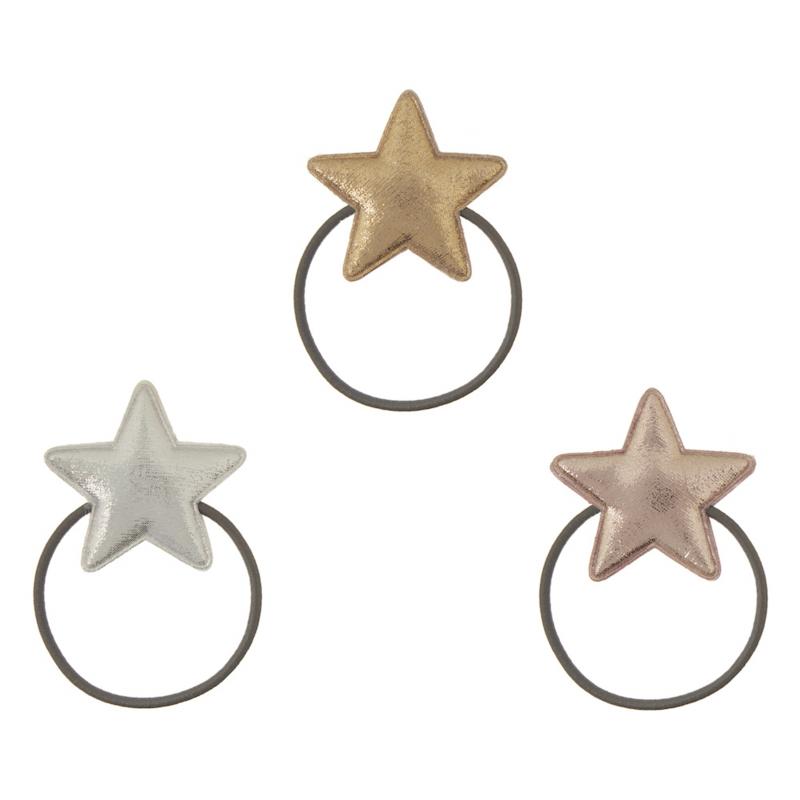 Mimi & Lula elastiekjes super star metallic 3x