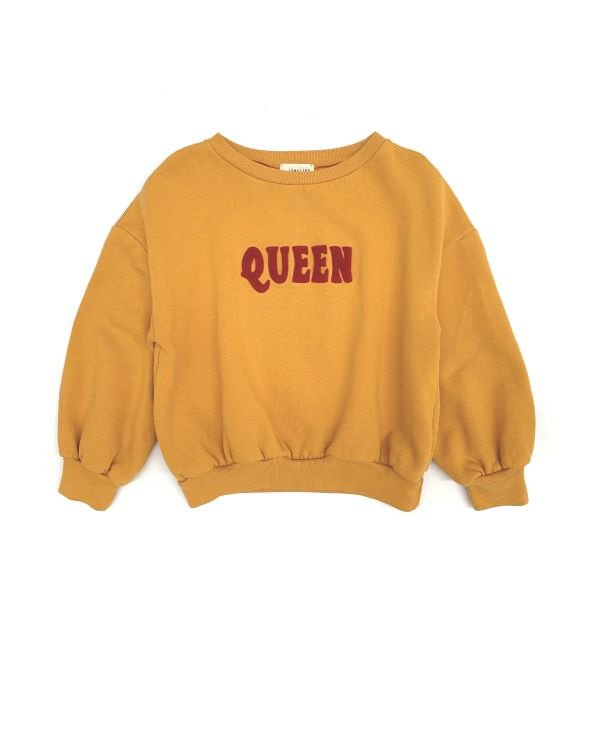 Long live the queen sweater golden yellow