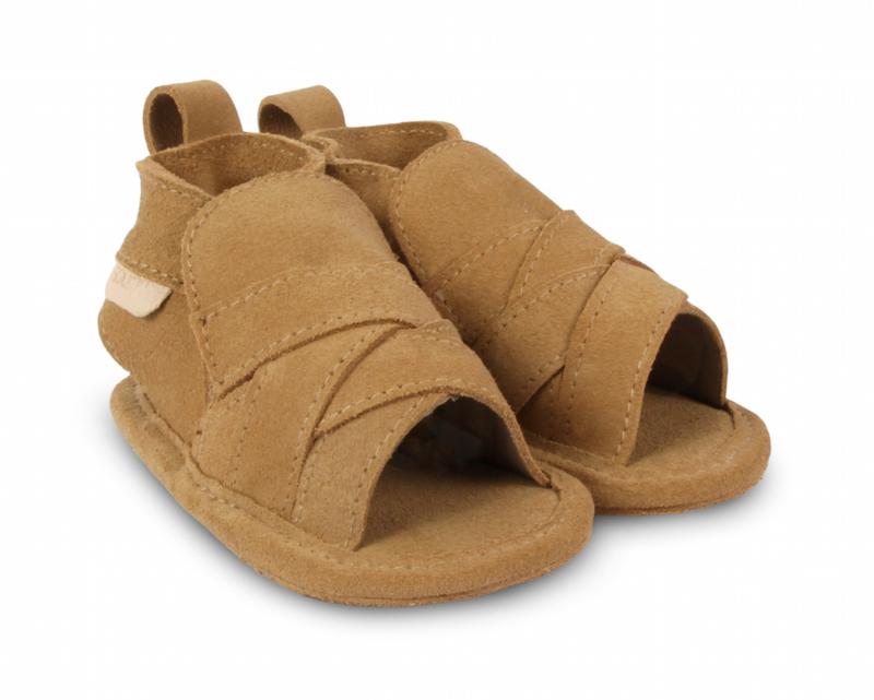 Boumy babyschoentje bon Sand Suede