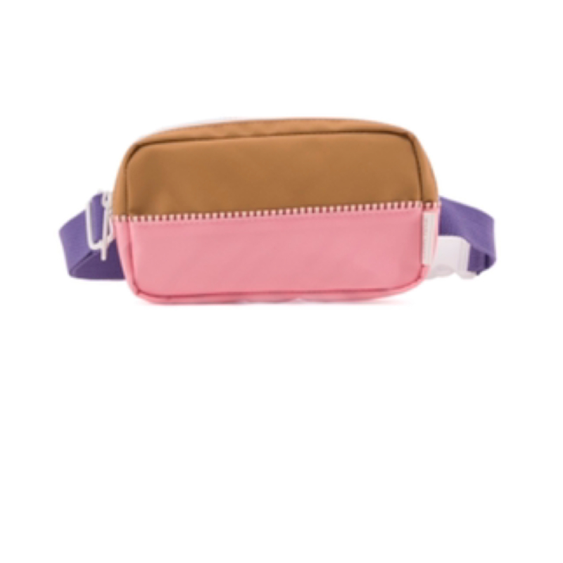 Sticky Lemon fanny pack puff pink + panache gold + lobby purple