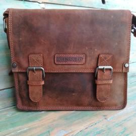 Vintage laptoptas/business bag  Hillburry tan