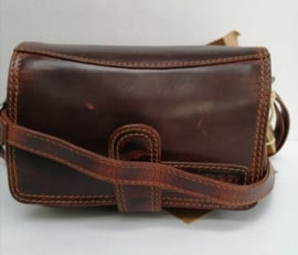Hill Burry Clutch clutch brown/tan