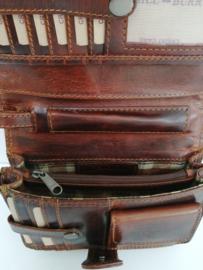 Hill Burry Clutch clutch brown/tan