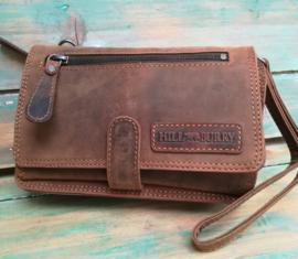 Hillbury Clutch /portemonnee glade tan