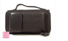 Hillburry  Clutch /portemonnee zwart