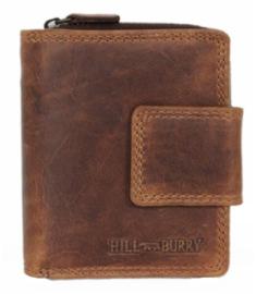 Vintage portemonnee HILL Burry brown