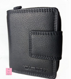 Vintage portemonnee HILL Burry zwart