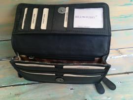 Clutch /portemonnee Hillburry zwart