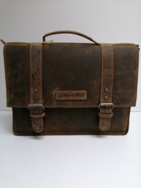Aktetas / Businessbag  Hillburry  brown