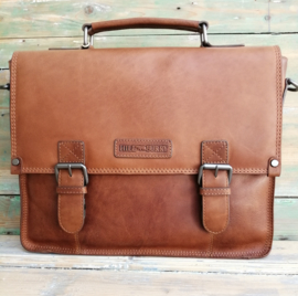 Aktetas / Businessbag  Hillburry cognac brown