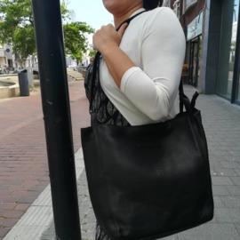 Hillburry big Buffaloo shopper black