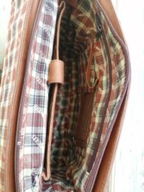 Aktetas / Businessbag  Hillburry cognac brown