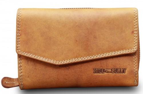 Hillburry portemonnee cognac
