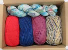 Survival-pakket sokkenwol