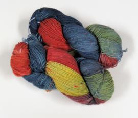 Handgeverfd 4-draads Tweed - TW30