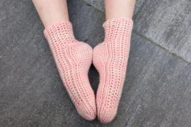 Vlindertjes-sokken