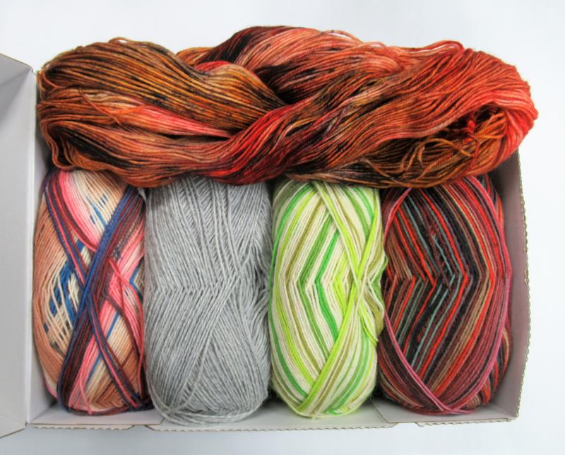 Verrassings-pakket sokkenwol