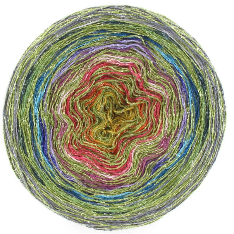 Silky Colour Cake - Groen