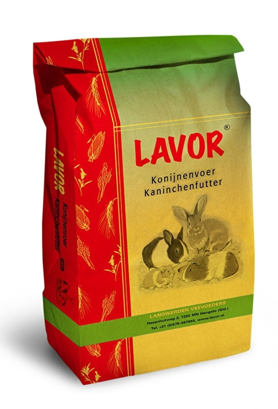 konijnenkorrel groei,  20kg