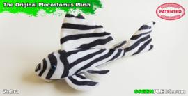 zebra pleco plush