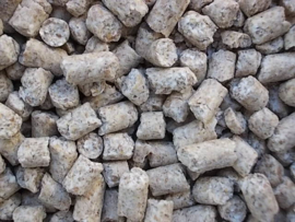 Tarwe pellets    ( 8 mm )