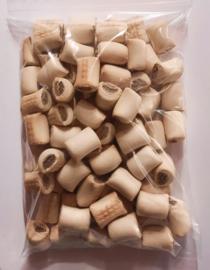 Mergpijpjes bruin  ( 500 gr )