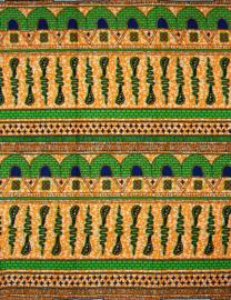 140 Afrikaanse stof | African Wax Print 100% cotton  | prijs / yard