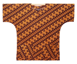 Afrikaans DASHIKI shirt HARAPAN BATIK Indonesia | unisex zomer party festival blouse