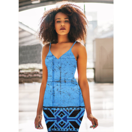 182 Afrikaanse stof | African Wax Print | Polycotton | prijs/meter