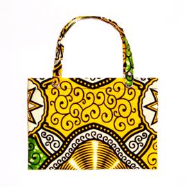 MATUNDA cadeautasje van afrikaanse wax print | gift bag voor A6 envelop / sieradendoosjes