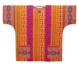 Afrikaans DASHIKI shirt KENTE GHANA | african wax print | unisex party festival blouse | XXXL