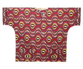 Afrikaans DASHIKI shirt OMARI | african wax print | unisex party festival blouse | KINGSIZE