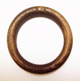 HOUTEN RING 7,5 cm | voor jurken, topjes en tassen